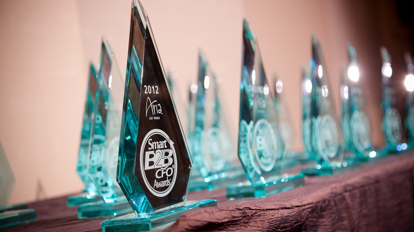 """B2B CFO ANNOUNCES WINNERS OF THE 2012 """"SMART 25 AWARDS"""" RECOGNIZING THE BEST IN AMERICAN BUSINESS"""